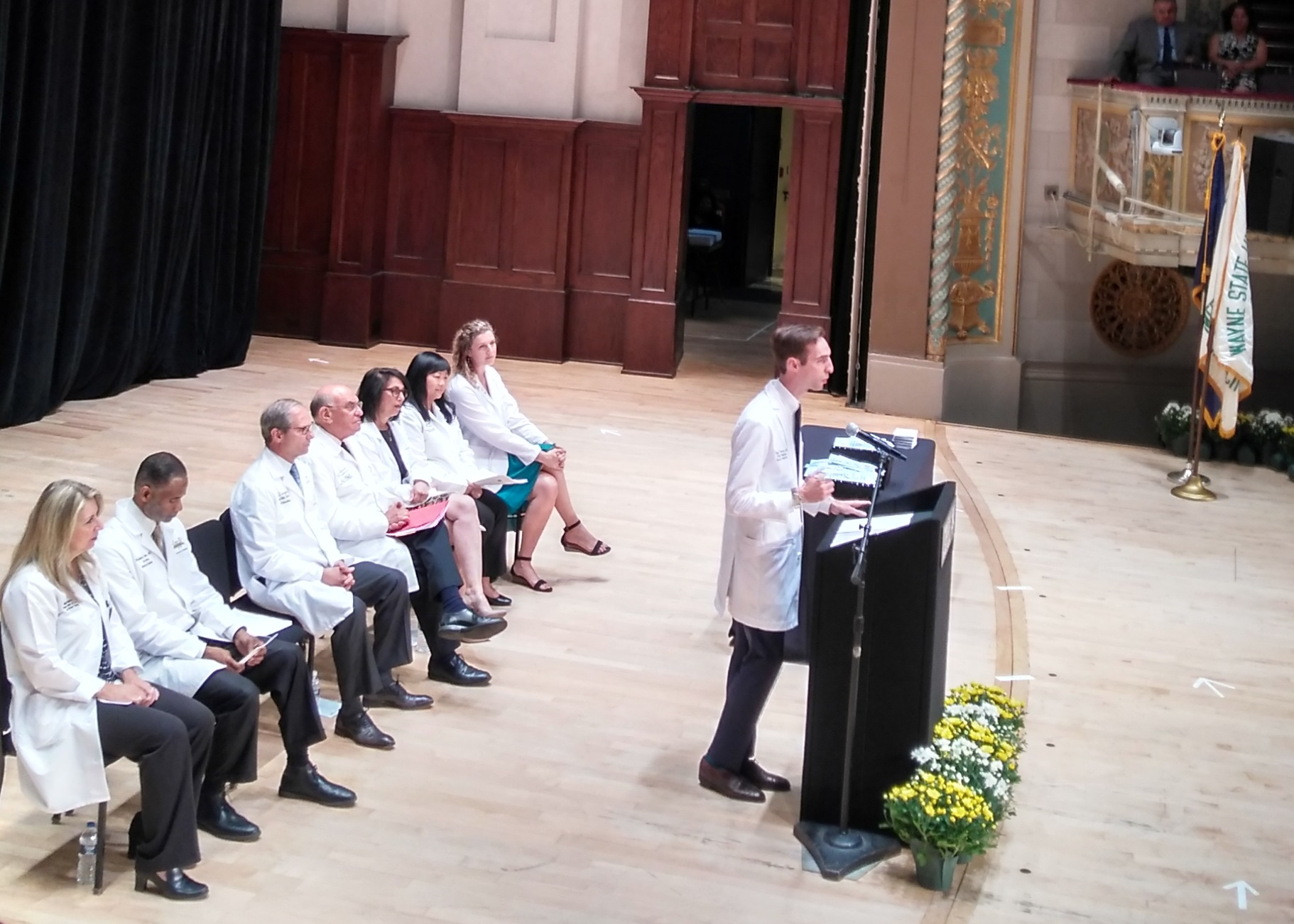 2017 Paul thomas White coat ceremony.jpg