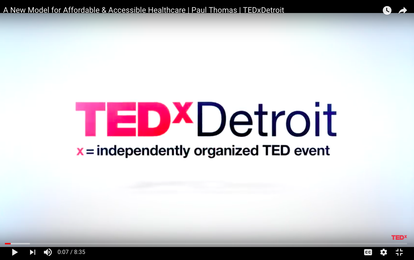 Paul Thomas MD YouTube TEDxDetroit Still 04.png