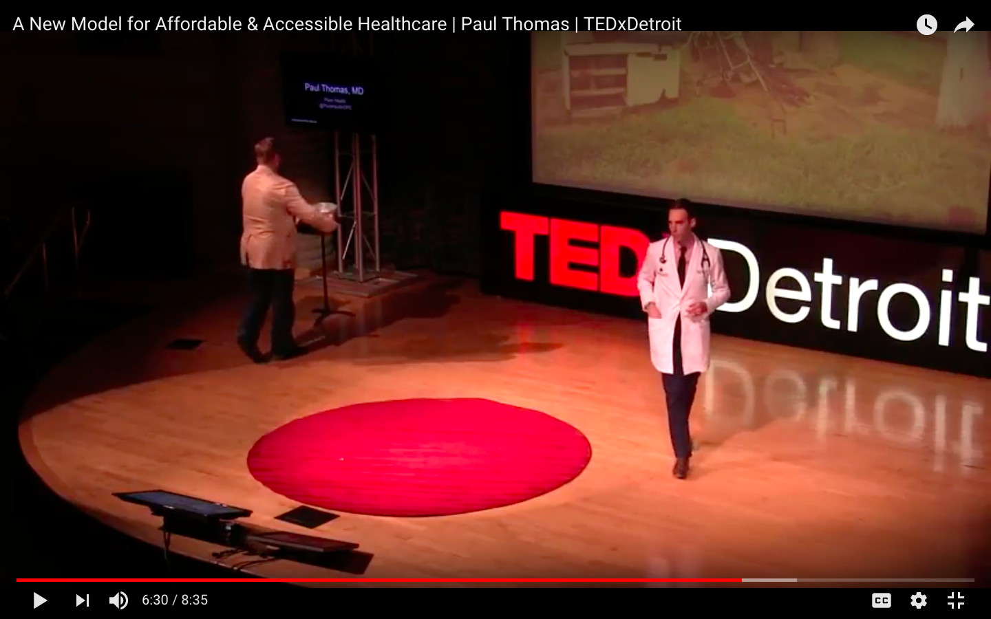 Paul Thomas MD YouTube TEDxDetroit Still 02.png