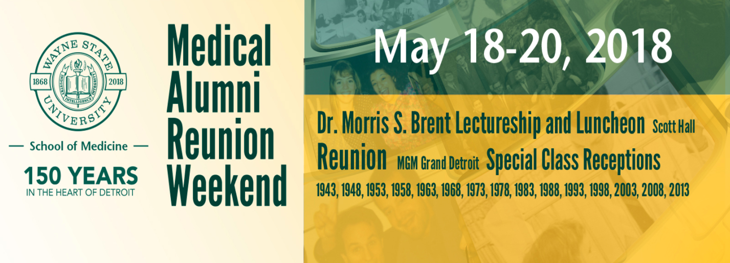 Morris S  Brent Lectureship at Wayne State Medical School