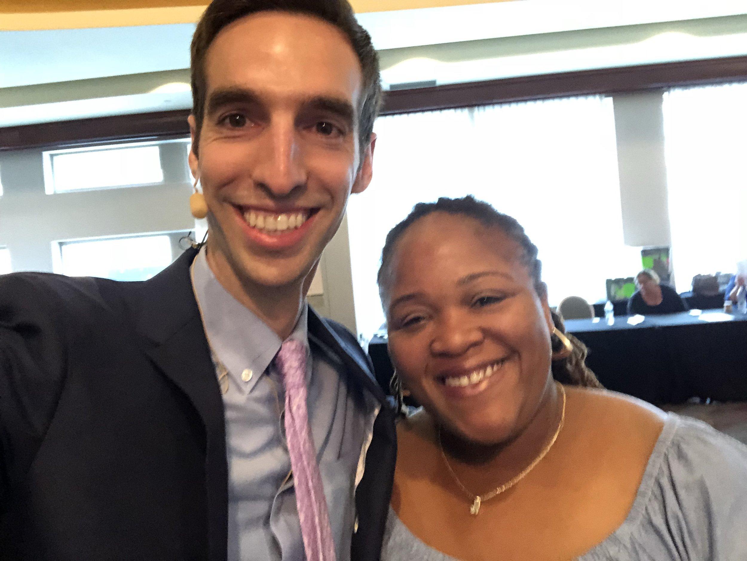 2018.07.15 AAFP DPC Summit 2018 Dr. Paul Thomas with Tamara Forbes from Anda Meds.jpg