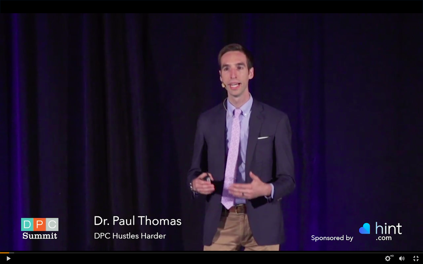 2018 Dr Paul Thomas of Plum Health DPC Speaks at the AAFP Direct Primary Care Conference 02.png