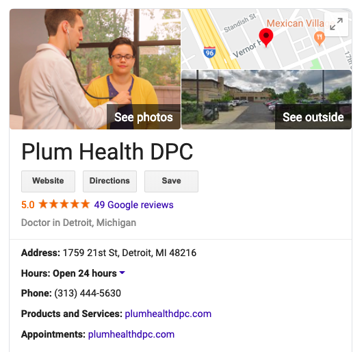 Last month, we were up to 49 Five Star reviews on Google, which is a great feeling. It validates the work that we do - people come away from our practice knowing that service is valuable and wanting to share that knowledge with other people.