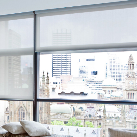 controlling light, UV and glare without compromising on the view