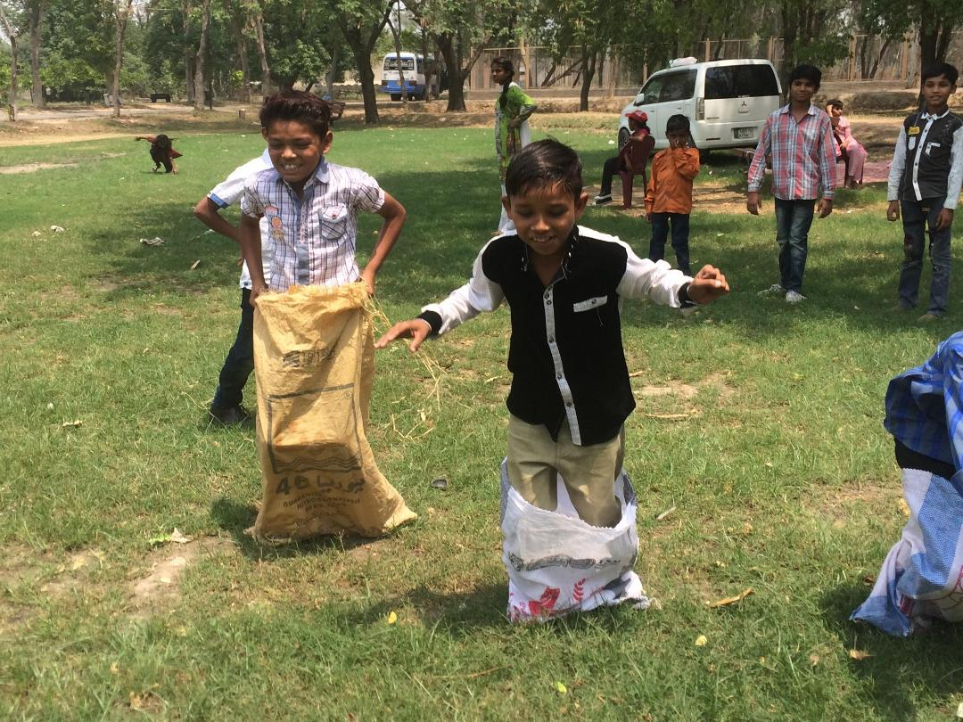 Sports Day sack races boys.jpg