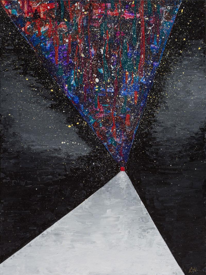 """18""""x 24"""", Acrylic on Canvas"""