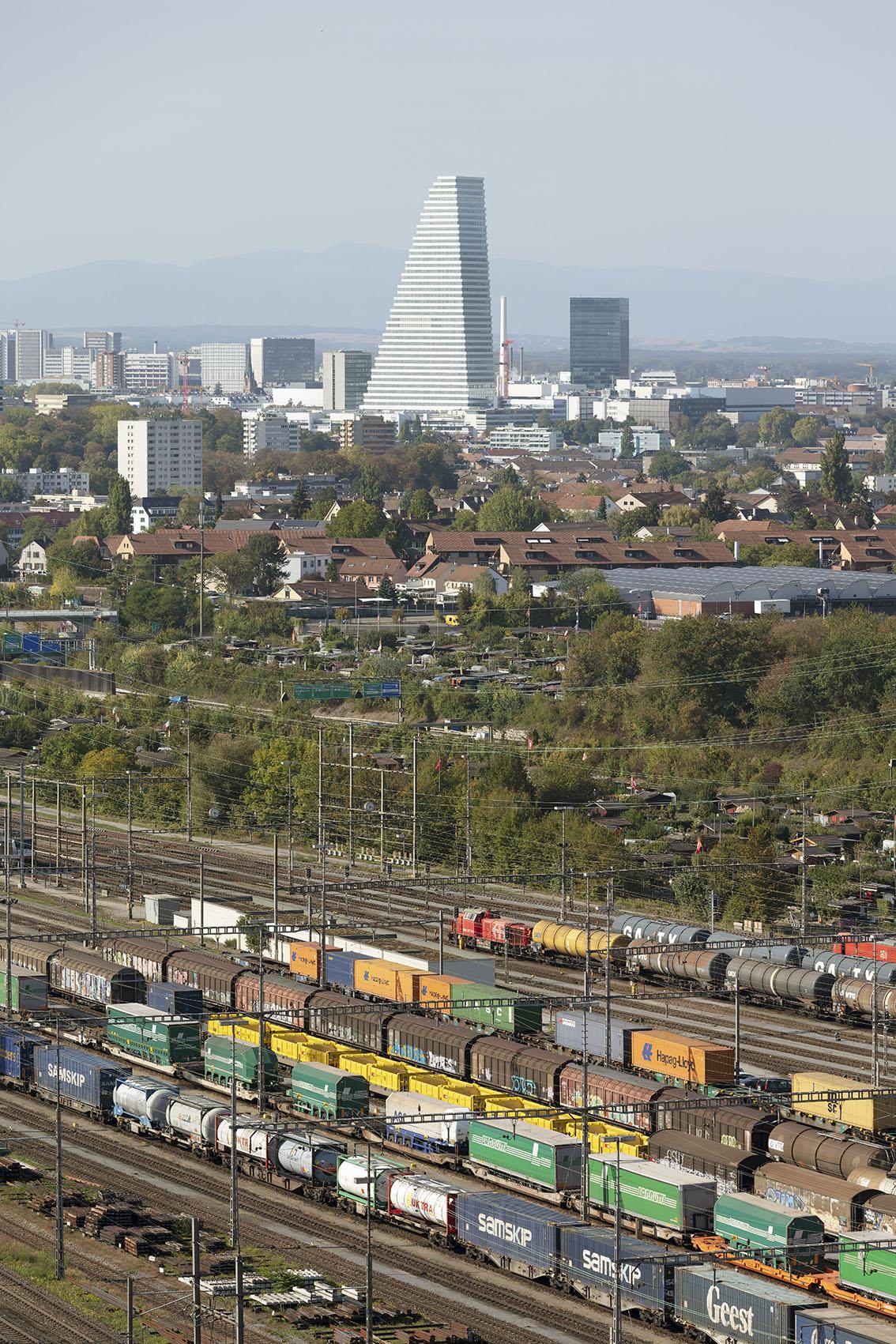 Roche / building 1 - Basel