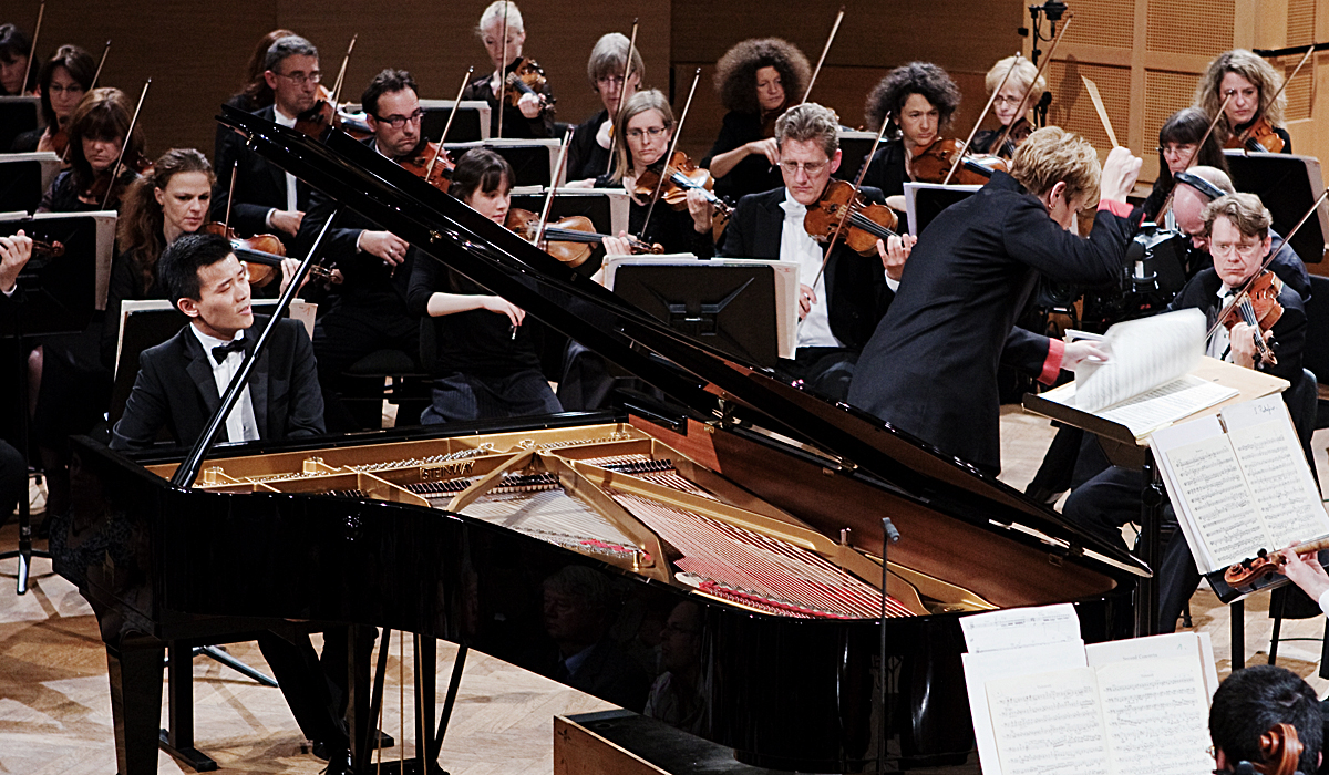 David Fung with Marin Alsop and the National Orchestra of Belgium