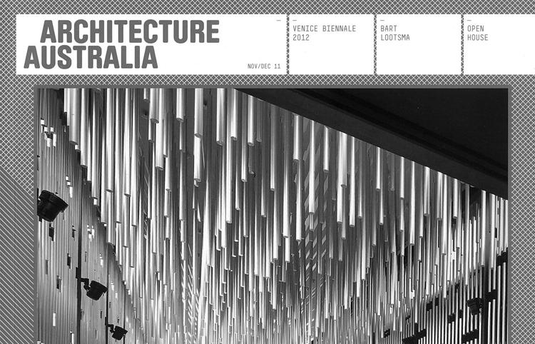 2011 Architecture Australia Nov/Dec 2011