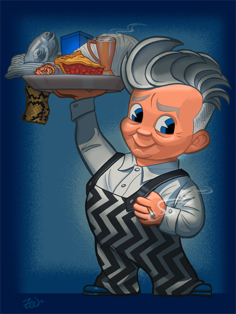 David Lynch as Bob's Big Boy