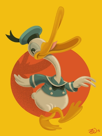 Donald Duck, clearly