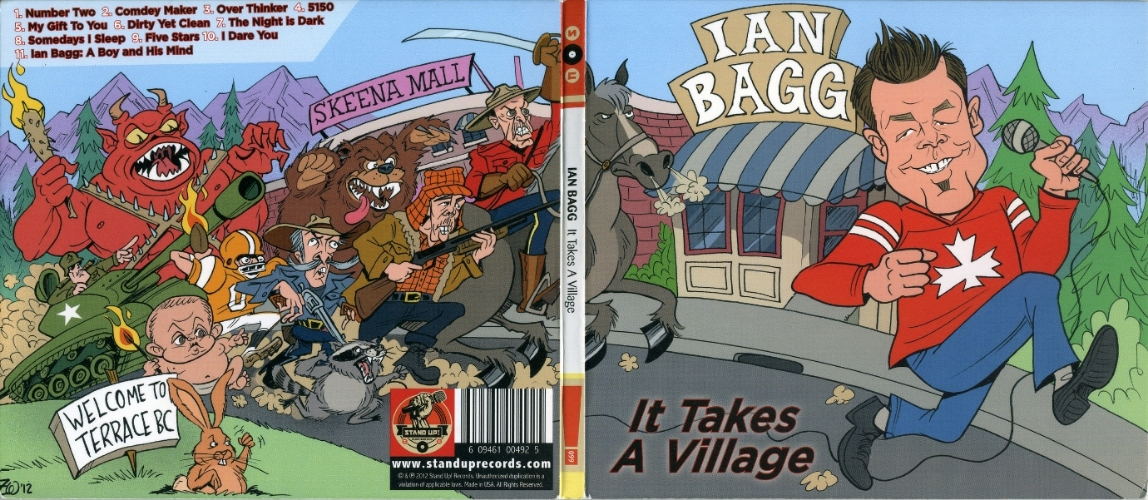 "Iann Bagg's ""It Takes a Village"""
