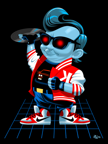 Bob's Big Boy as Kavinsky