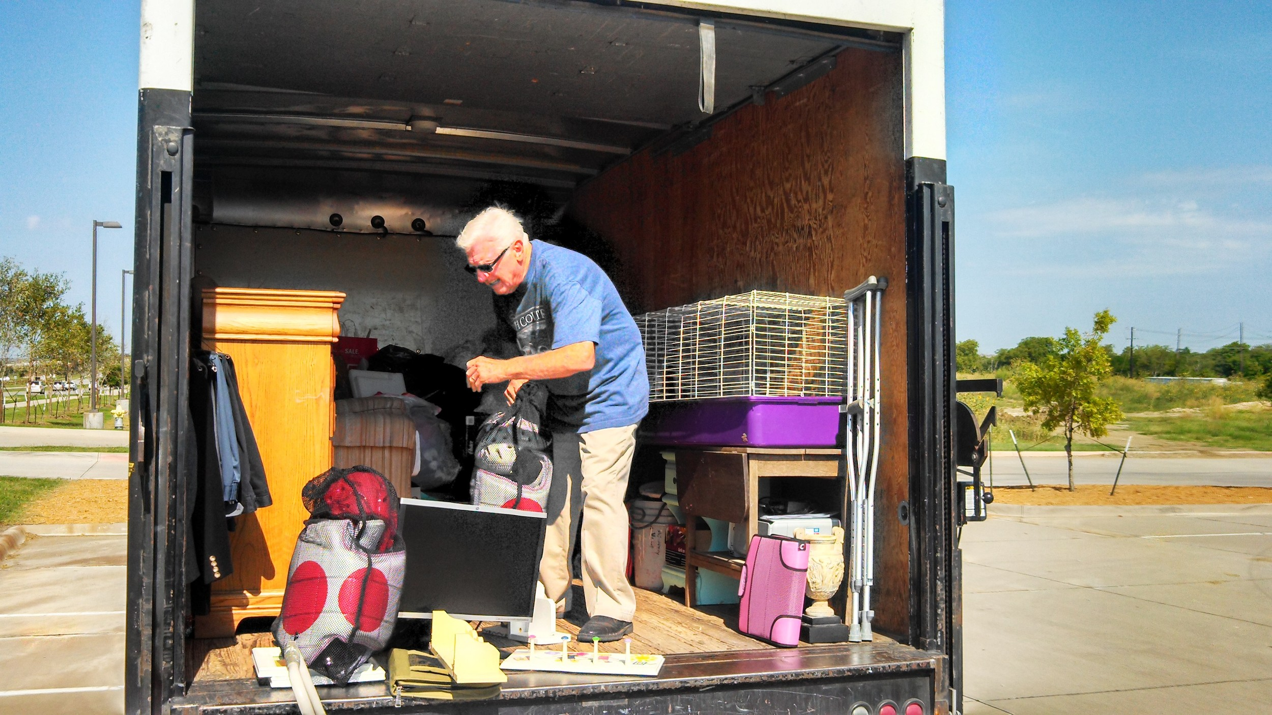 St Vincent de Paul Donation Truck