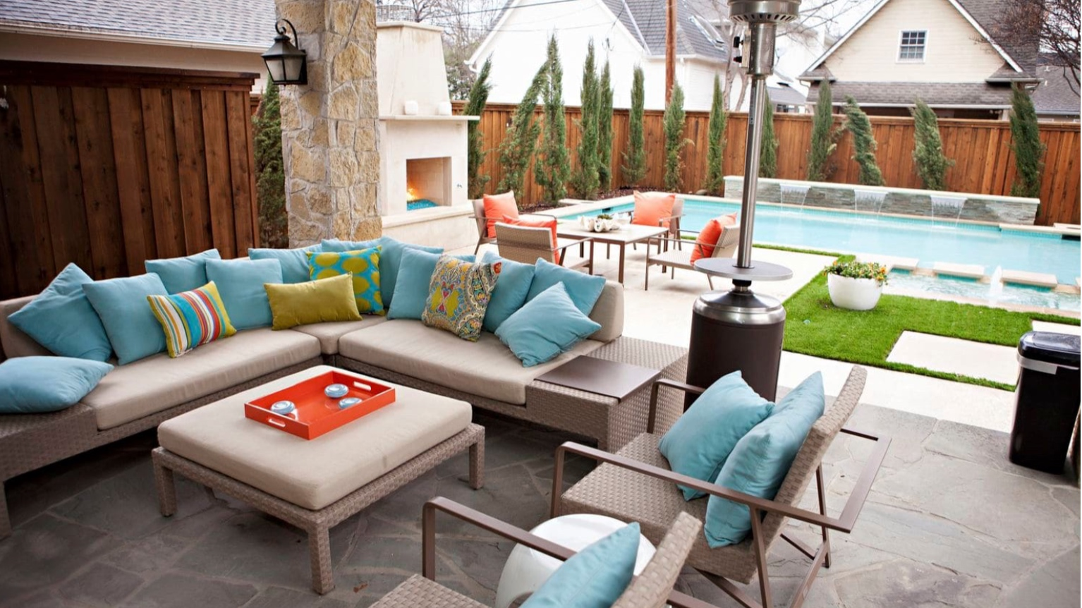 The Washington Post - ASK A DESIGNER: How to design and decorate poolside