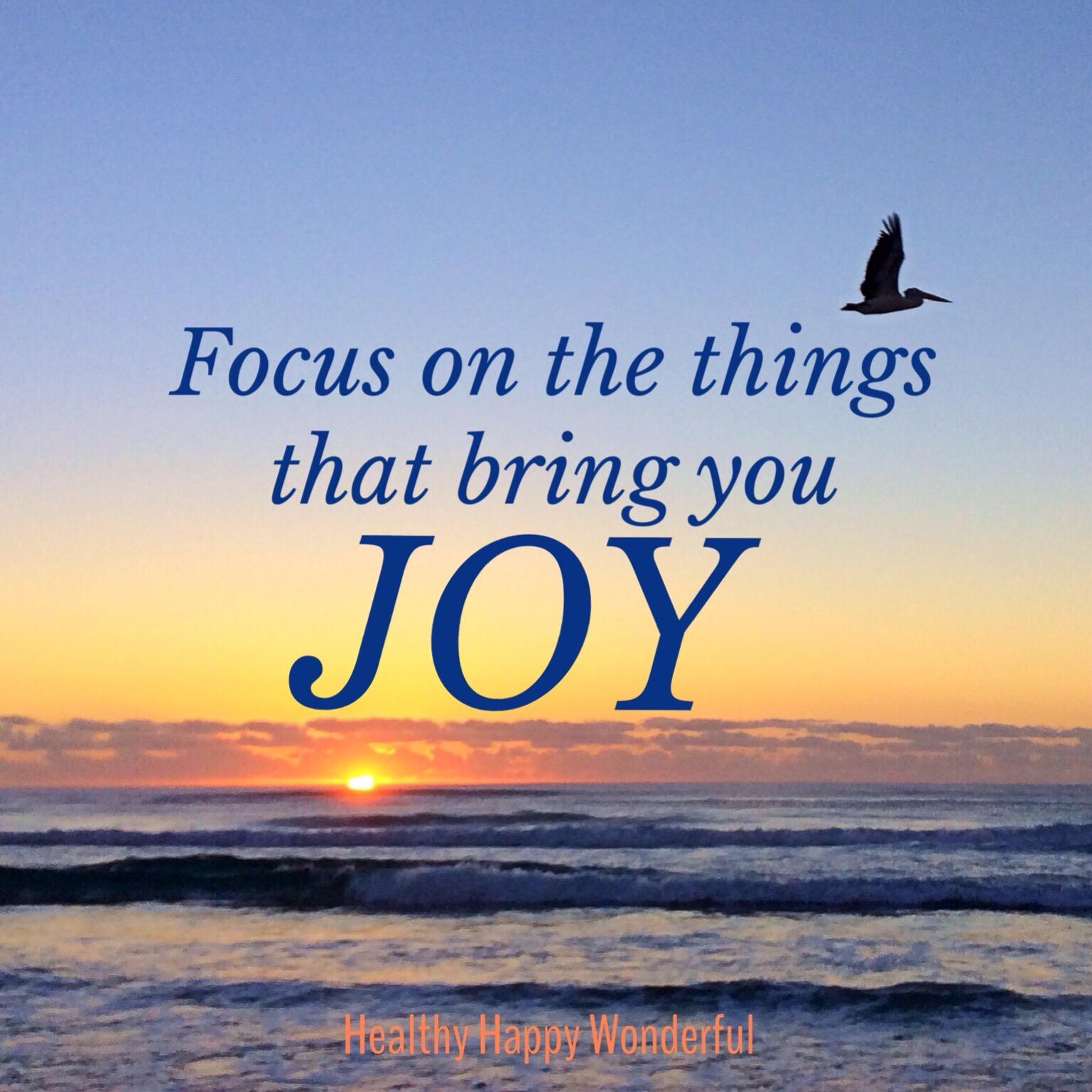 Your prescription: invite more joy into your life
