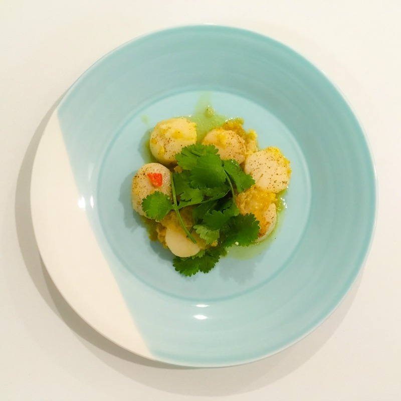 In my kitchen: ginger chilli scallops