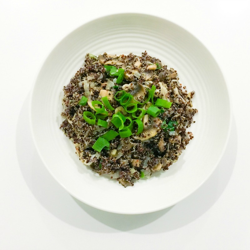 Fast and delicious: Mushroom Quinoa