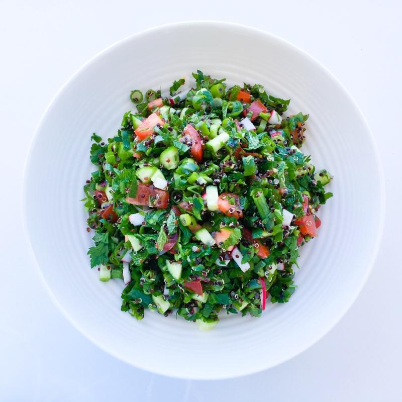 Tabouli with Quinoa