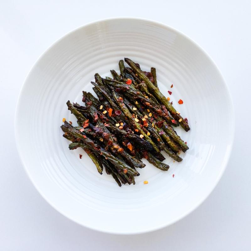 Miso Garlic Green Beans