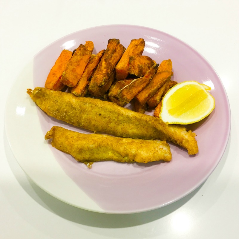 Jenna's Healthy Fish & Chips