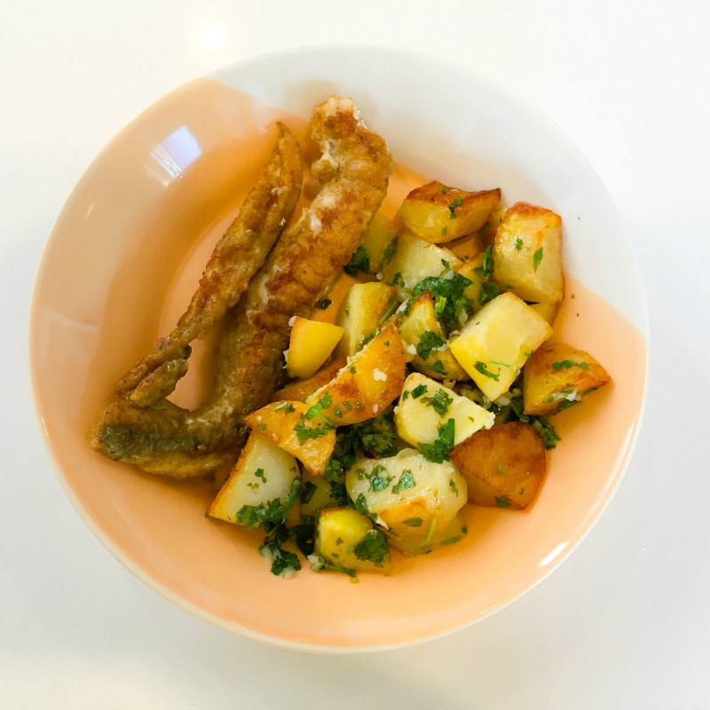 Fish & Chips with a healthier twist!
