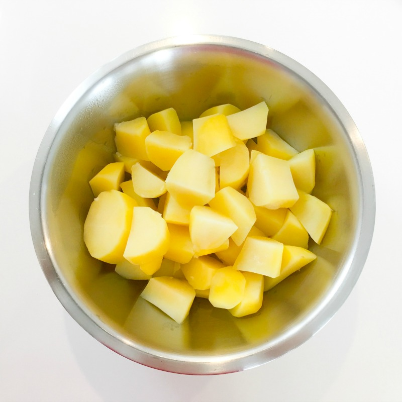 Cooking and then refrigerating your potatoes overnight will lower their glycemic impact!