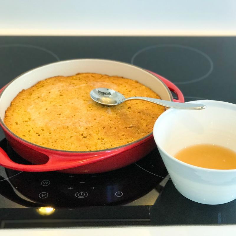 Polenta, Almond & Coconut Lemon Drizzle Cake