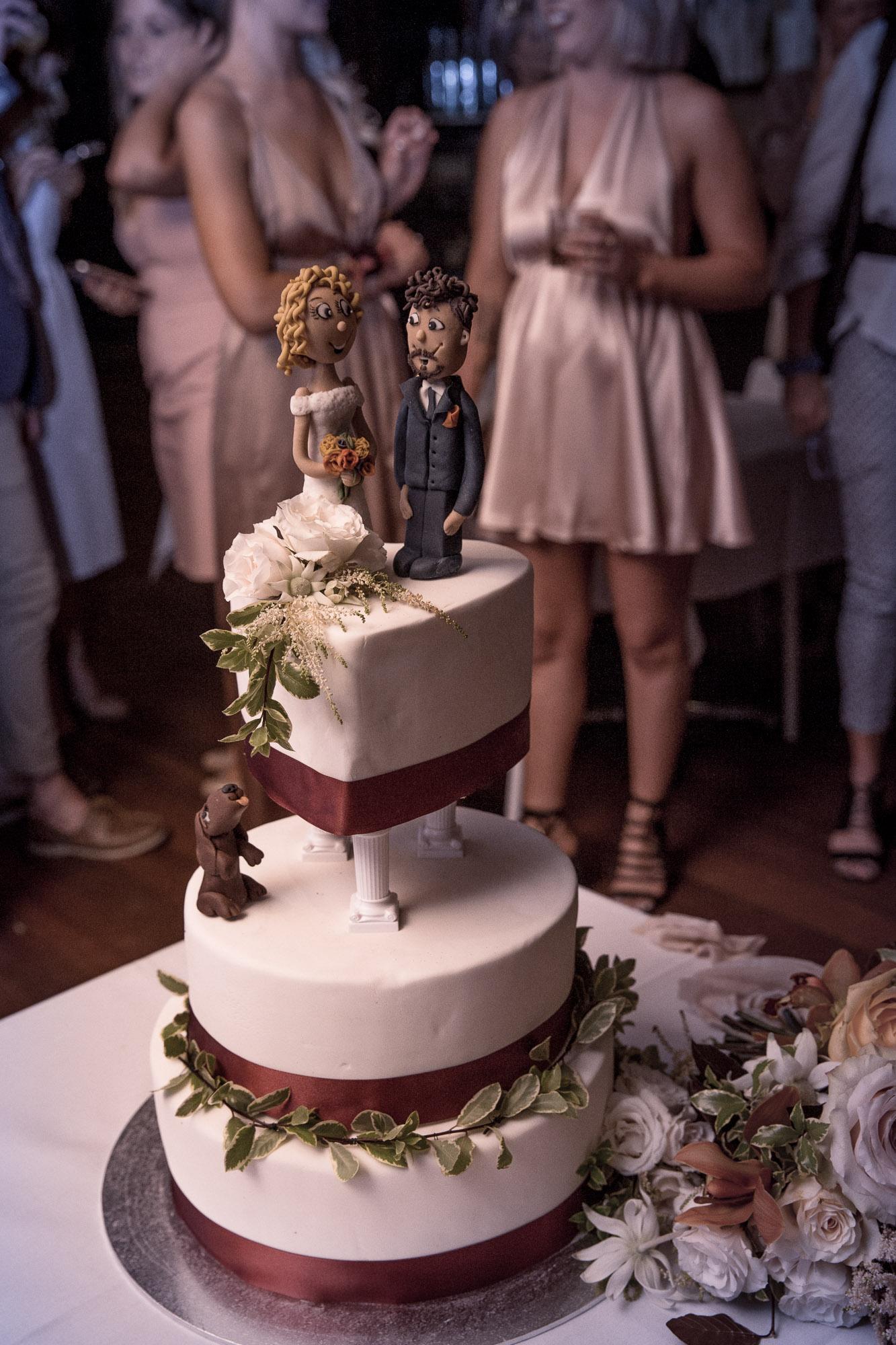 banker bay beach wedding cake