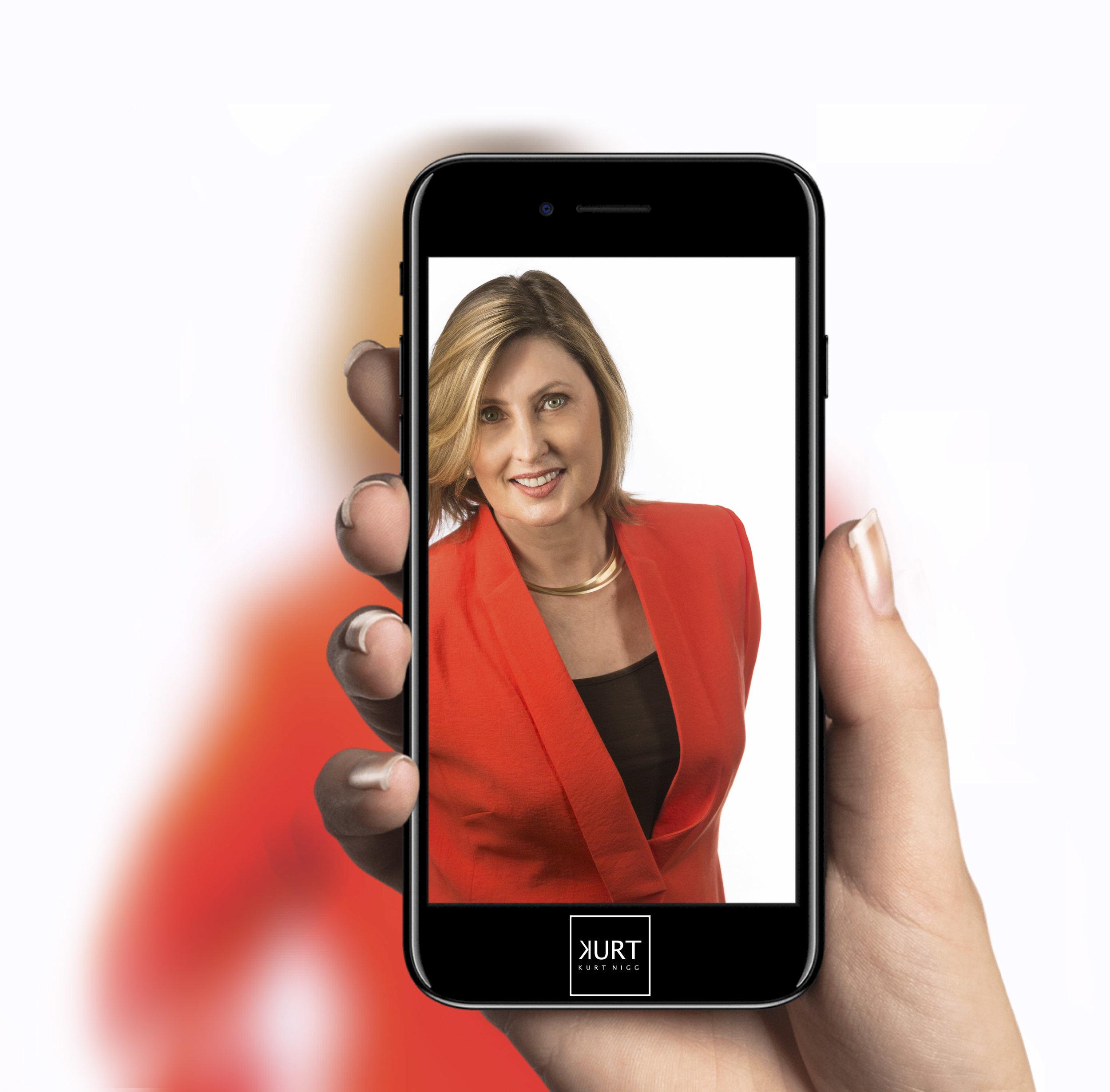 Creative business headshot specialist in Perth