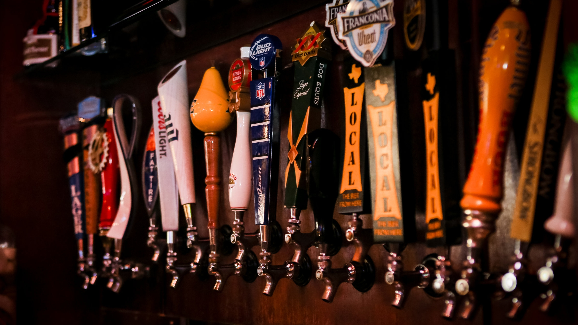 54 Beers On Tap
