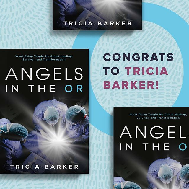 "Congrats to @triciabarker_nde on the launch of her book ""Angels in the OR"" today! We're so thrilled she's sharing her captivating and inspiring story. You can get your copy now wherever books are sold. #Congrats Tricia—what a journey!"