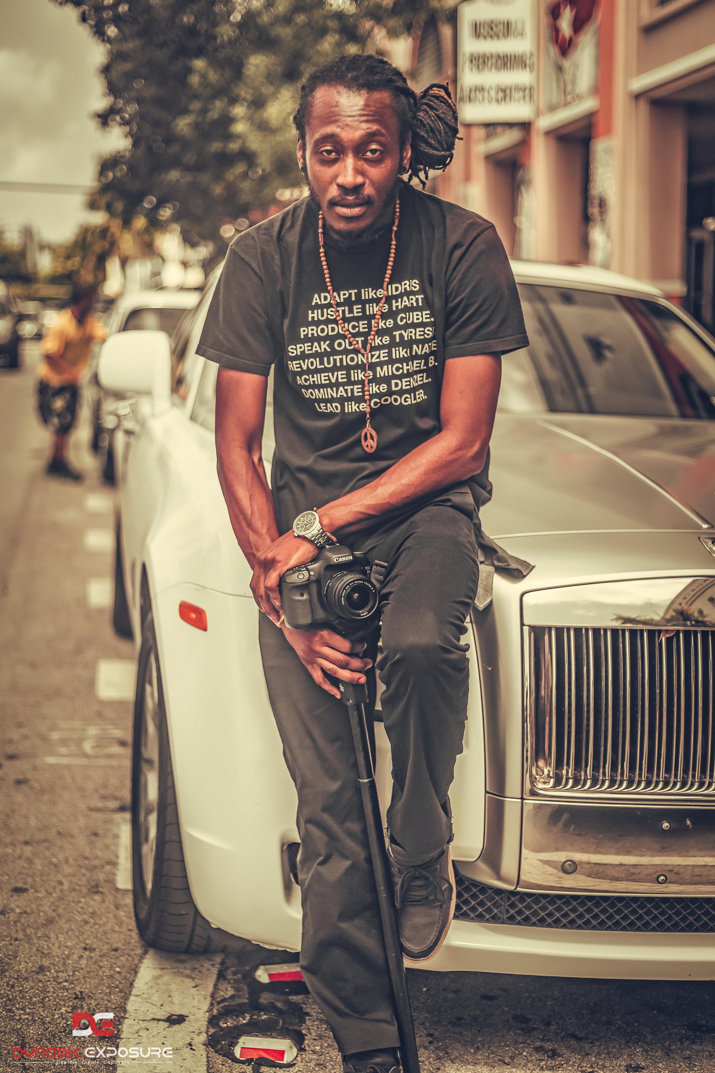Wyclef Jean Video shoot
