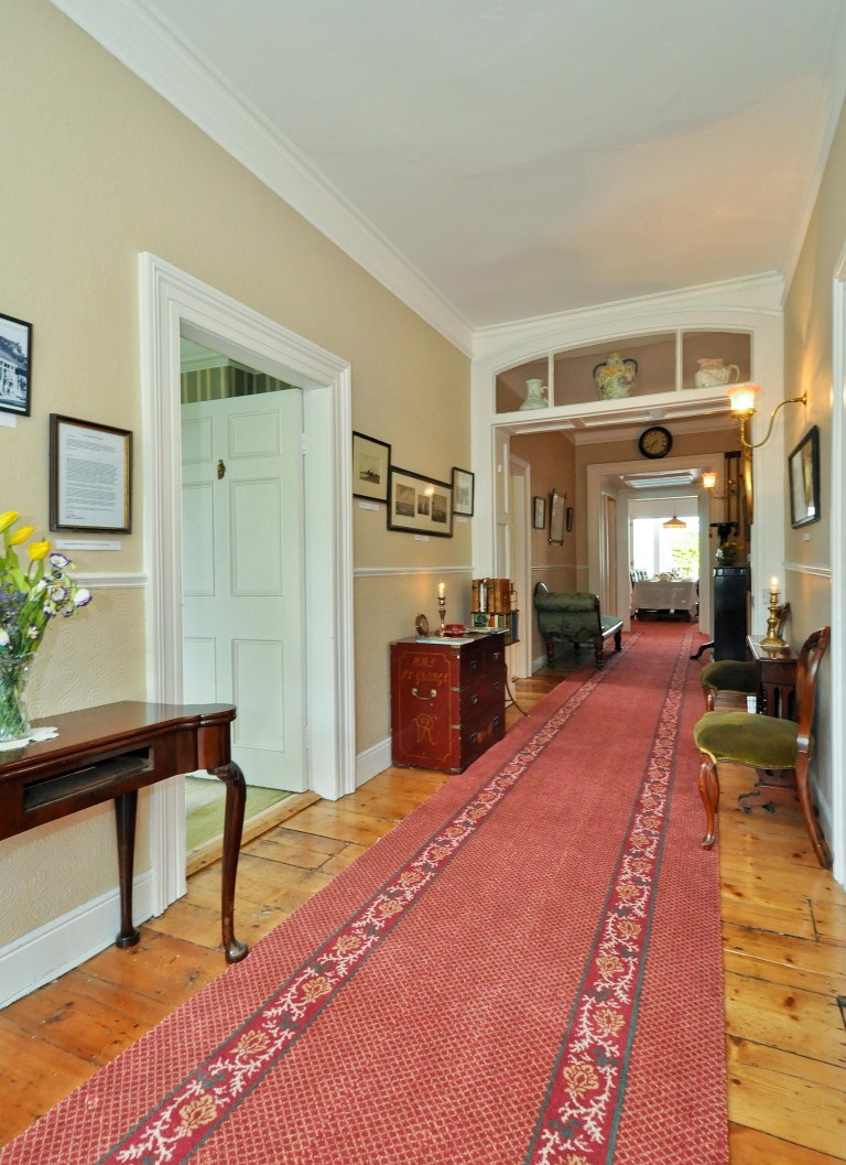 Fine wide bright entrance hall