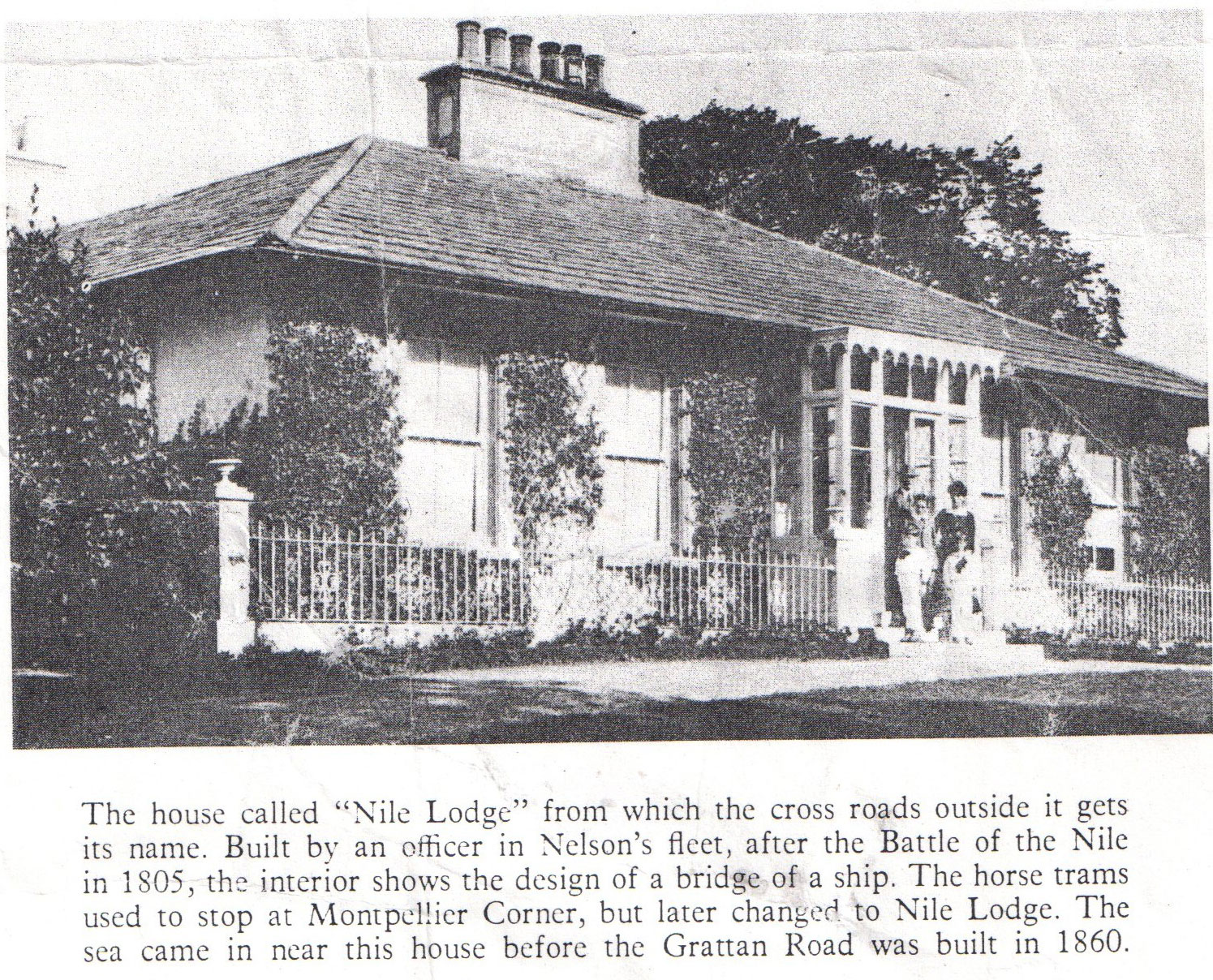 History of Nile Lodge House Galway