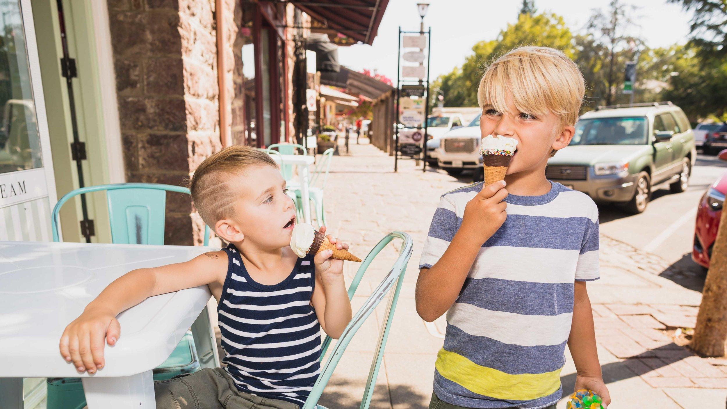 ice cream - please!