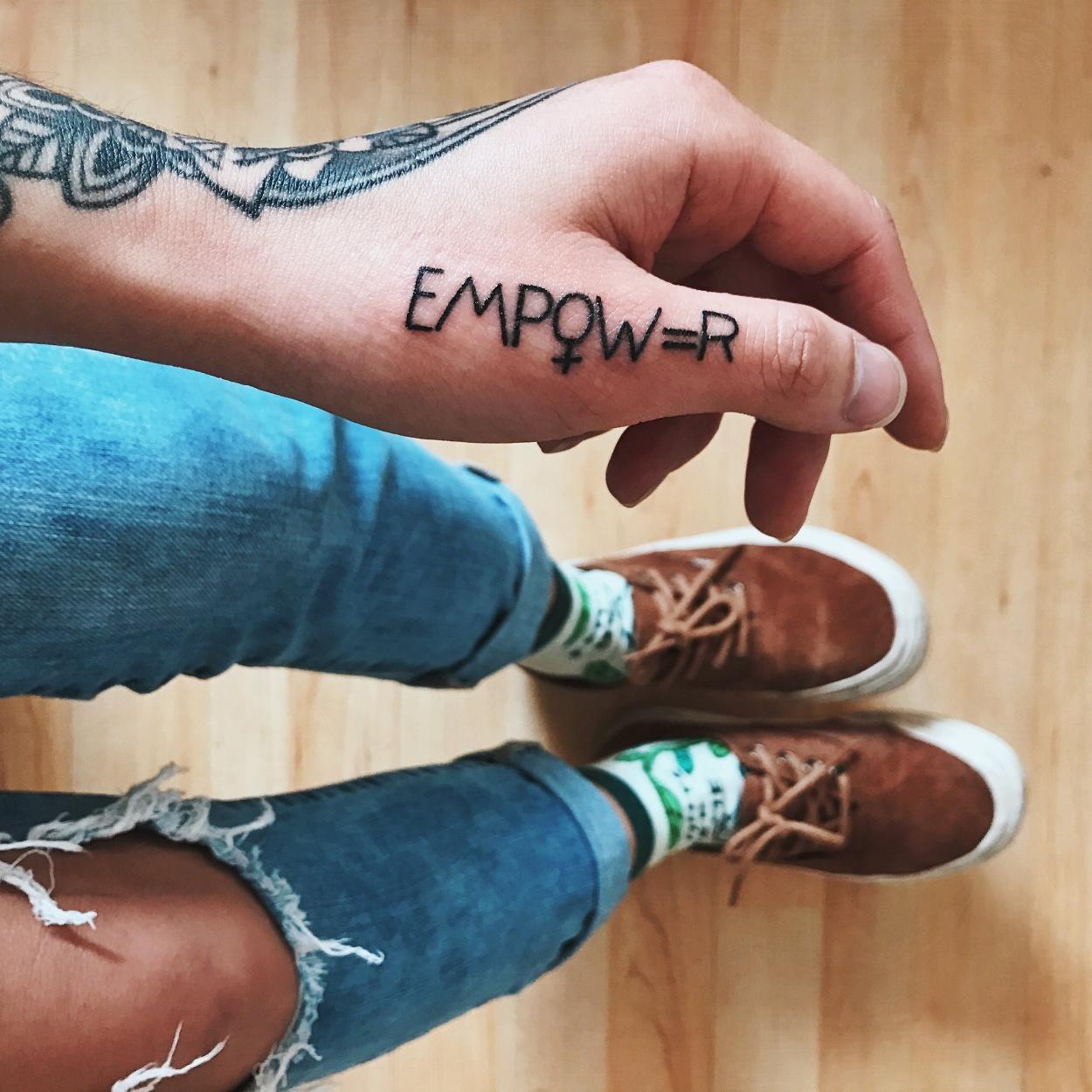 Tattooed done by Nick Flanagan. (3/21/17)