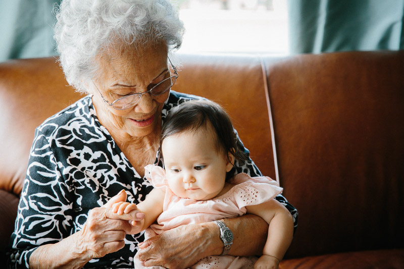 Grandparents and great grandparents are a treasure and if you're still lucky enough to have one around, PLEASE don't miss this opportunity.