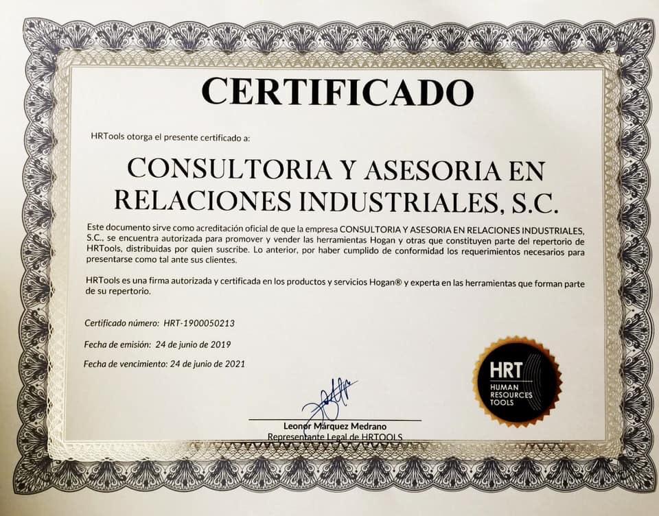 Nuest certificado