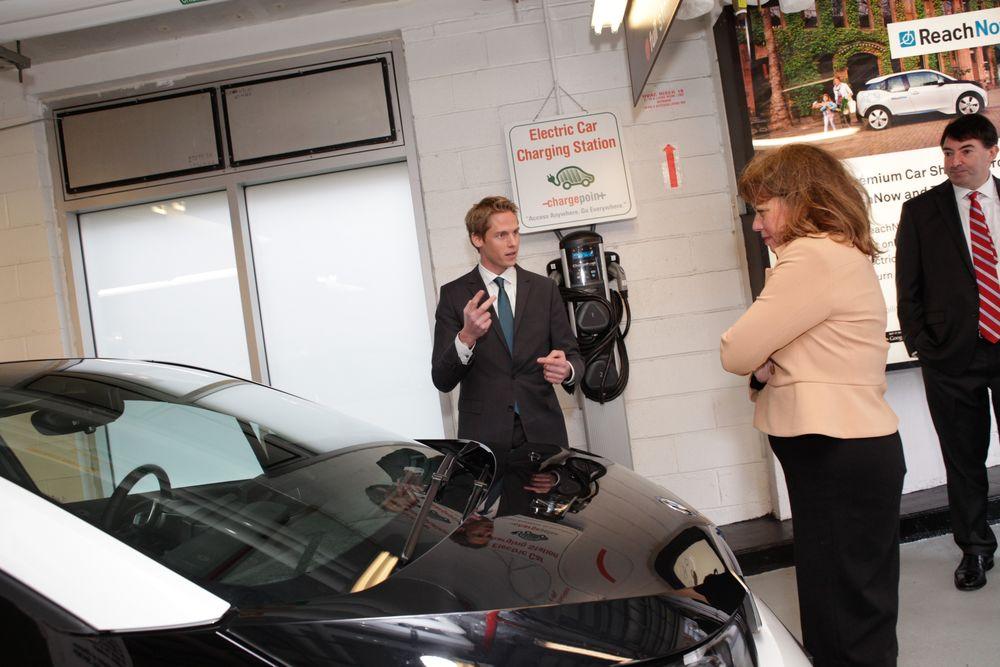 ReachNow charging station BMW/Reach/Now