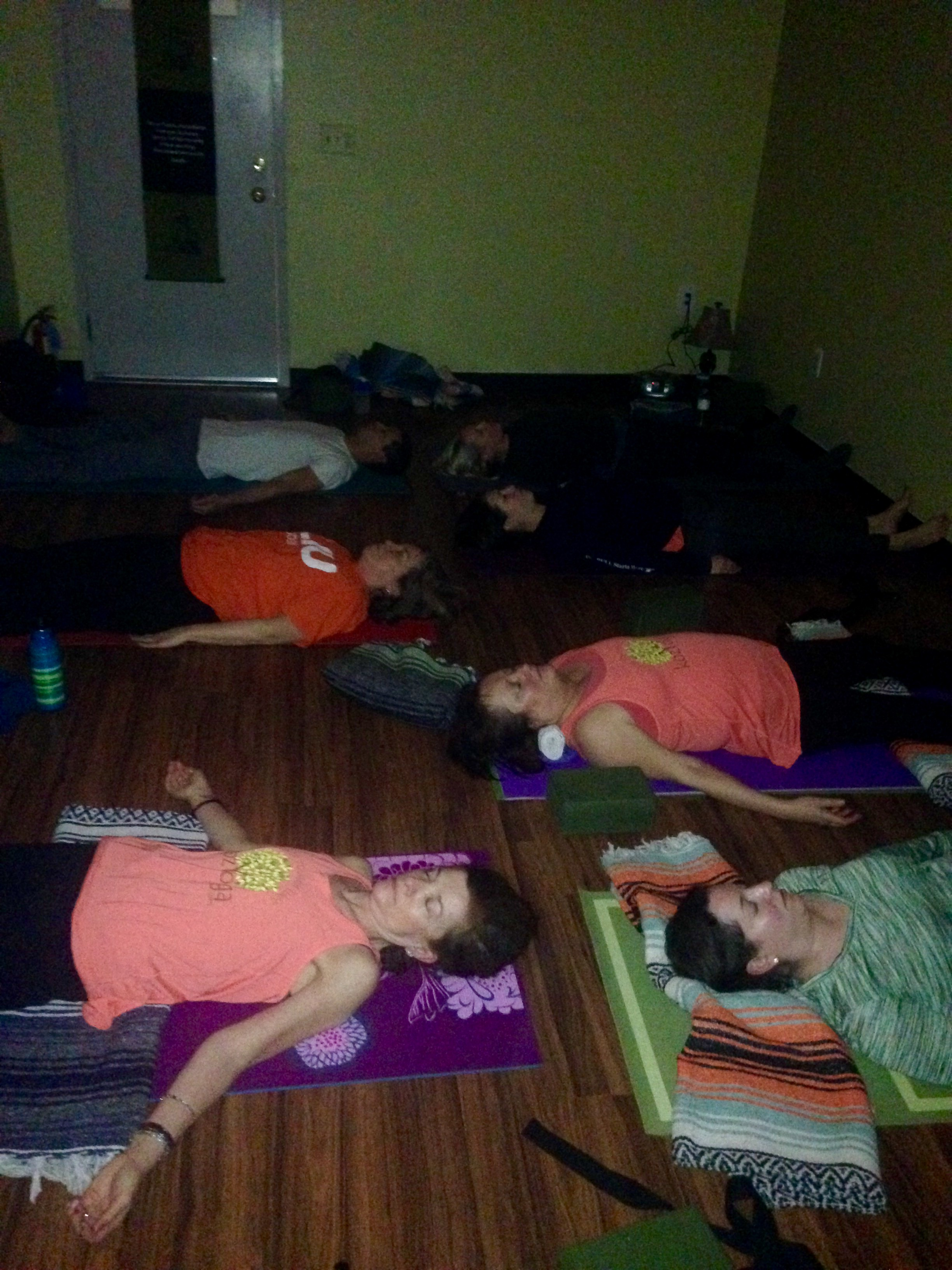 Join us on the 2nd Sunday of every month for a Special Restorative Yoga Practice.
