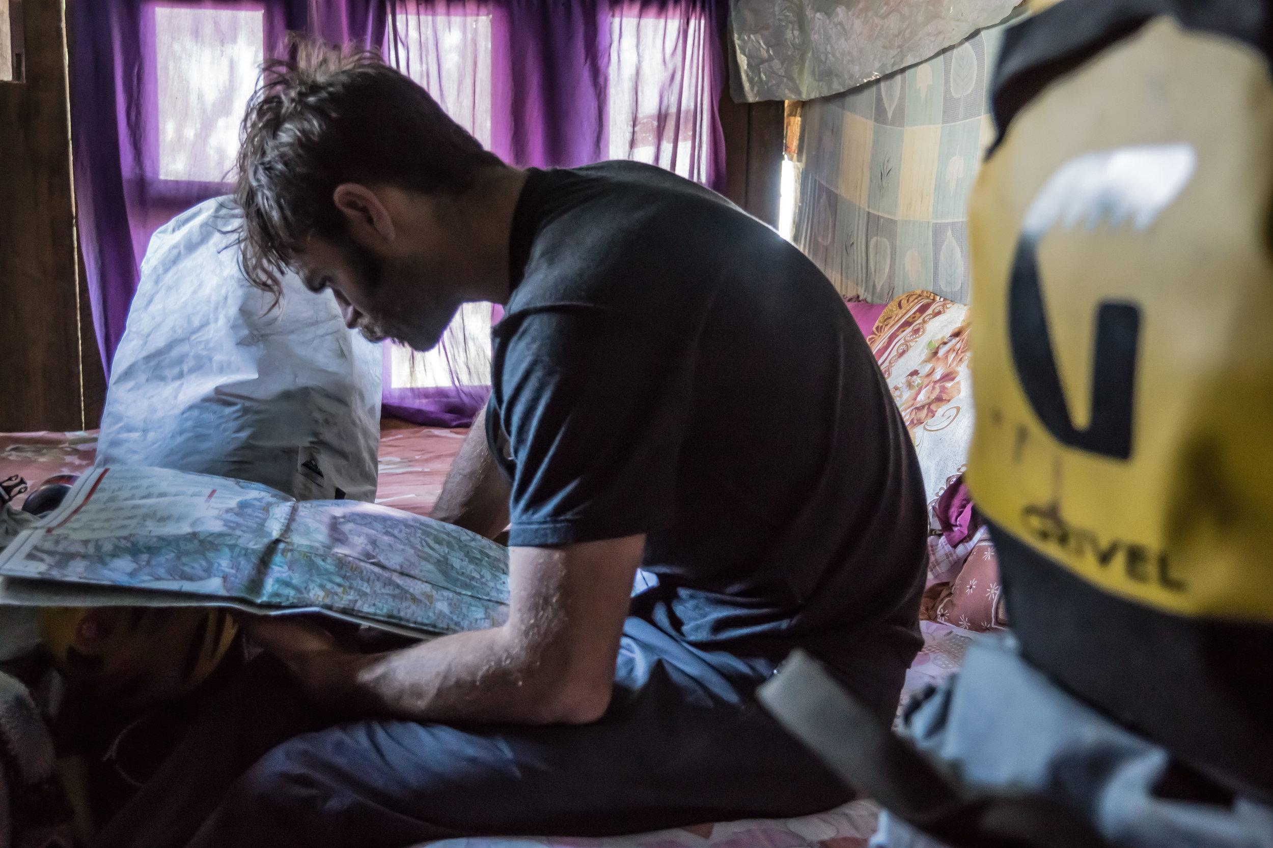 Scott Adamson in Nepal - photo by Angela Van Wiemeersch