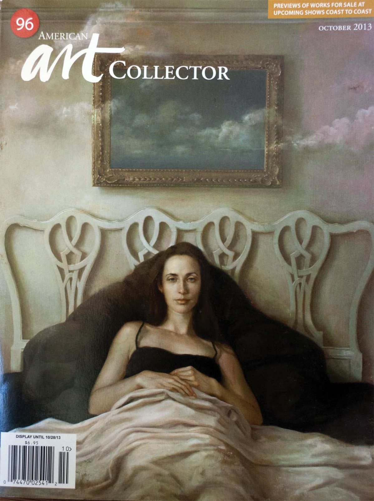 """Artist Focus: Tibor Simon-Mazula"", American Art Collector, October 2013, pp-142, United States"