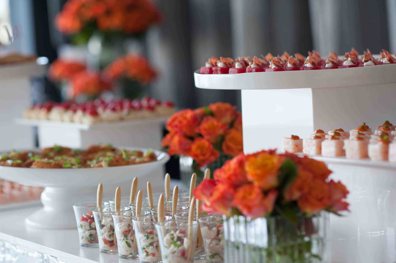 Food&desire+food+station+with+orange+floral.jpg