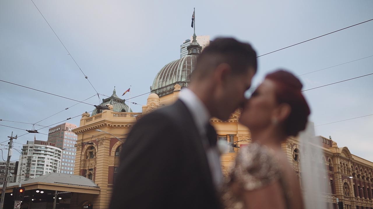 Kostas and Marnie wedding videography melbourne