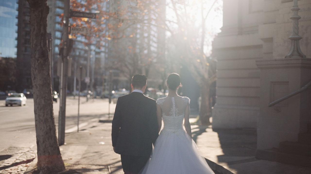 jason and sillan wedding videography melbourne