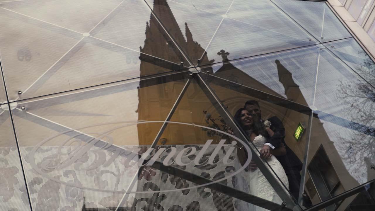 damien and elena wedding videography melbourne