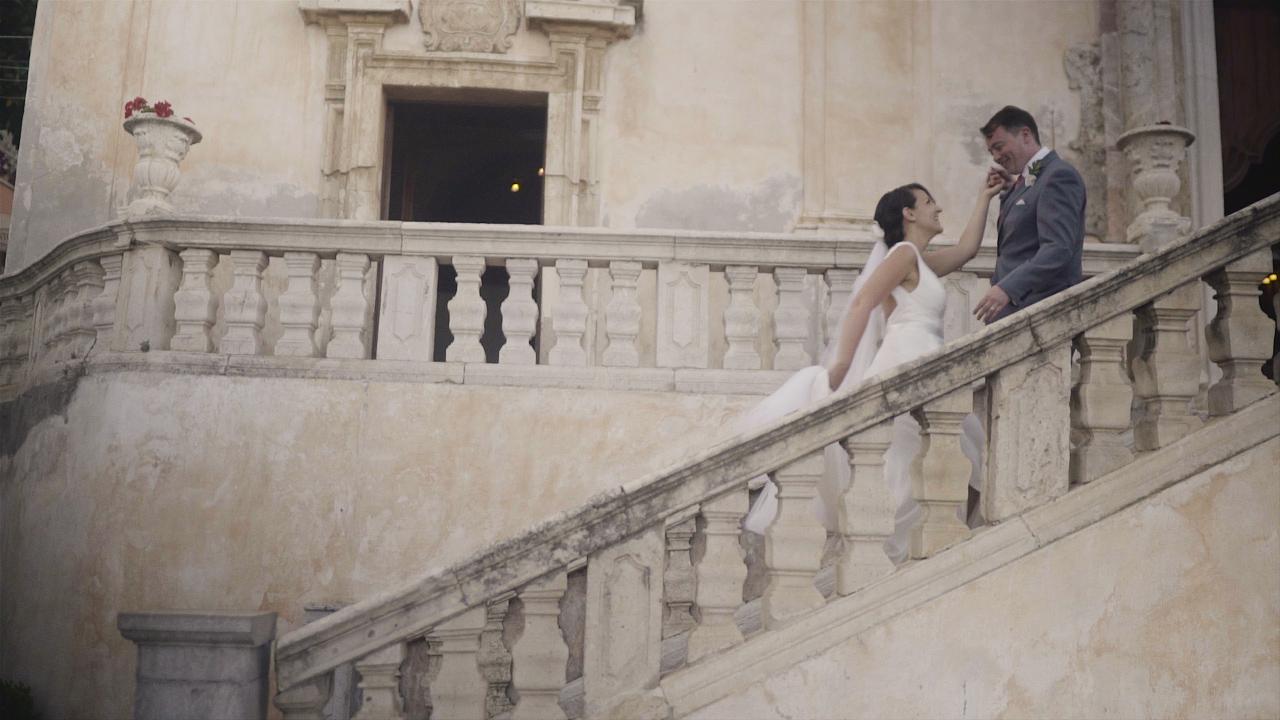 tam and elena wedding videography italy