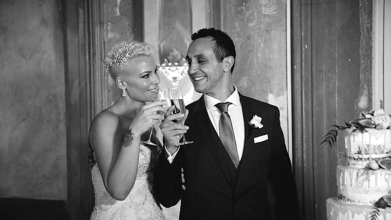 claude and bridgett wedding videography melbourne