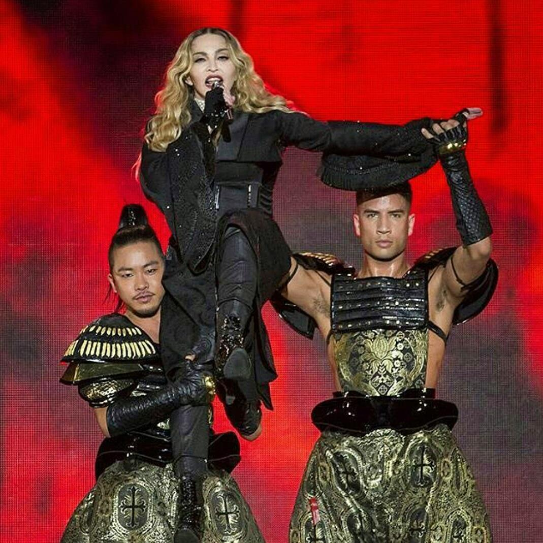 Kupono Madonna Rebel Heart Tour 1